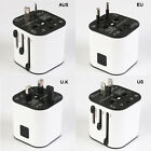 Universal USB Ports AC 3.2A Home Travel Wall Charger AC Power US/UK/EU Adapter