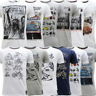Mens T Shirts Brave Soul Short Sleeve T-Shirt *PACK OF 2 * S M L XL
