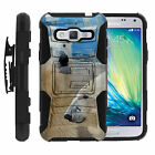 Samsung Grand Prime Rugged Holster Clip Heavy Duty Case Wild Animals