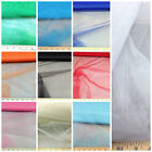 Discount Fabric Tulle 54 inch sheer Choose Your Color