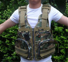 Brand New Adults Camouflage Boat Buoyancy Aid Sailing Fishing Life Jacket Vests