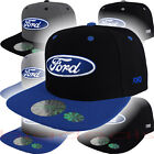 Ford Logo Cap Snap Back Hat F150 Raptor Truck Oval Shelby Mustang GT500 Racing