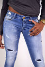 REPLAY Jeans ROSE WX613E Slim Fit Broken Twill Power Stretch NEW
