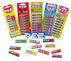 PEZ Candy RECHARGES 8x Fruit/Gazeuze/Cola/Mangue/Aigre (Sucreries/Enfants