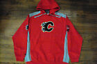 CALGARY FLAMES NEW NHL MAJESTIC HAT TRICK HOODED SWEATSHIRT