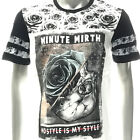 m344w Minute Mirth T-shirt Sz S M L XL Tattoo LTD SPECIAL TECHNIQUE Rose Ghost