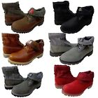 Timberland Mens Icon Basic Roll Top Lace Up Casual Fashion Ankle Boots Shoes