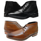 Florsheim Mens Castellano Lace Up Business Casual Dress Shoes Chukka Ankle Boots