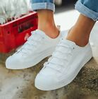 Mens Sneakers Lace Up Flats Shoes Korean Retro Recreational Skateboard Size I165