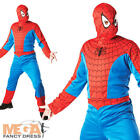 Spiderman Mens Fancy Dress Superhero The Amazing Spider-Man Adult Costume Outfit