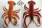LIFE SIZE LOBSTER~Joke~Fake~Imitation~Plastic Rubber~Display~2 Colours Available