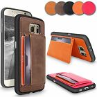 Luxury Leather Flip Wallet Case ID Card Holder Stand Cover For Samsung Galaxy S6
