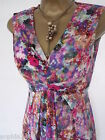 New M&S Floral Pink Blue Maxi Dress Size 8-18 Summer Marks & Spencer Holiday