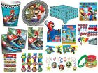 OFFICIAL - MARIO KART KIDS BOYS PARTY RANGE ITEMS FILLERS TABLEWARE DECORATIONS