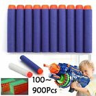 100-900PCS KIDS TOYS SOFT NERF GUN DARTS REFILL BULLET N-STRIKE ELITE SERIES UK
