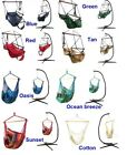 Hanging Hammock Swing Air Chair With or Without C Stand Indoor Outdoor Porch