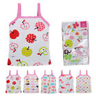 Toddler Baby Girl T Shirt Tank Tops Sleeveless Floral Print Infant Tee Vest AS