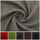 TRADITIONAL GENUINE SOFT PLAIN THICK WOOL UPHOLSTERY SEATING CURTAIN FABRIC