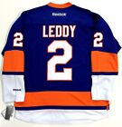 NICK LEDDY NEW YORK ISLANDERS REEBOK NHL PREMIER JERSEY NEW WITH TAGS