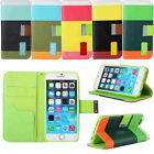 Attractive Stand Flip Wallet Leather Case Cover For Apple iPhone 4 4S 5 5S 5C UK