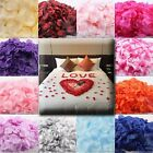 600PCS QUALITY SILK FLOWER ROSE PETALS WEDDING PARTY TABLE CONFETTI DECORATIONS