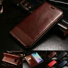 Luxury Flip PU Leather Wallet Case Magnetic Closure Cover For Samsung Galaxy