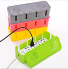 Home organization Socket Plug Cable wire Storage Box Children Safety household