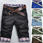 Fashion Mens Cargo Pants Shorts Cool Trousers Casual Military CAMO Combat Army