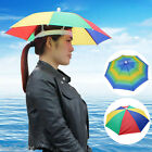 BD Headwear MultiColor Umbrella Hat Cap Beach Sun Rain Fishing Camping Hunting
