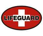 Lifeguard Decal Swim Pool Beach Medic CPR Vinyl Car Truck Window Sticker EMA