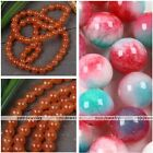 "1 Strand 6mm Girl Womens Jade Dyed Gemstone Round Loose Beads Jewelry DIY 15.5""L"