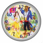 BEAUTY AND THE BEAST ROOM DECOR WALL CLOCK NEW