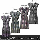 Womens Ladies Branded 5th & Love Ladies Summer Beach Holidays Casual Dress 8-14