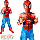 Ultimate Spiderman Boys Fancy Dress Marvel Comic Superhero Kids Childs Costume