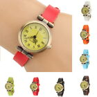 Chic Fashion Faux leather Female Wristwatches ROMA Vintage Women Dress Watches