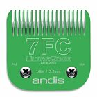 Andis Professional UltraEdge #7fc Cat Blade lime color Fits Oster A5/AGC2/AG2