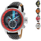 Invicta Men's S1 Rally GMT 48mm Chronograph with Leather Band Watch
