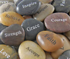 Engraved River Rocks Word Stones Sold Individually