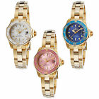 Invicta Women's Pro Diver 18K Gold Plated SS Colored Dial and Bezel Watch