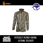 Spika HR Tracker Long Sleeve Shirt - Camo, H-105, Camo Hunting Shirt,