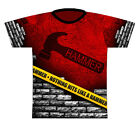 Hammer Caution TapeDye-Sublimated Mens Bowling Shirt Jersey