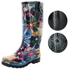 Nomad Two Puddles Women's Rubber Rain Boots Assorted Prints Floral