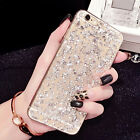VINTAGE BLING SEQUIN SKIN CLEAR SOFT TPU CASE COVER FOR IPHONE 6 6S PLUS