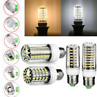 2/5Pack 5733SMD G9 E14 E27 B22 GU10 E12 42/80/108/136 LED Corn Bulb Light White