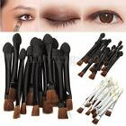 12pcs Double-ended Disposable EyeShadow Applicators Sponge Brushes Makeup Tool
