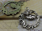 6/30pcs bird wings and the branches of the fashion and personality charm pendant