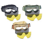 Lancer Tactical Airsoft Safety Eye Protection Interchangeable Lens Goggles