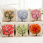 Comfort Linen Pillow Case Throw Waist Cushion Cover Hotel Car Bed Home Decor HOT