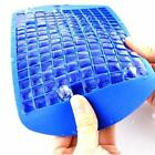 160 Ice Cube Tray Freeze Silicone Mould Kitchen Bar Pudding Jelly Mold Maker LA