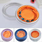 BD 1PC Paper Round Watch Bracelet Box With PVC Window Jewelry Packaging Gift Box